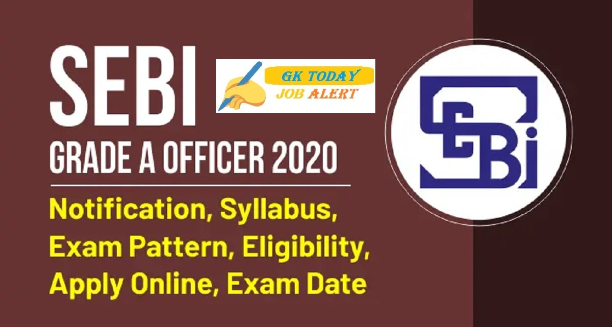 SEBI Recruitment 2020 Assistant Manager