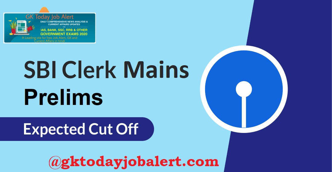 SBI Clerk Cut Off
