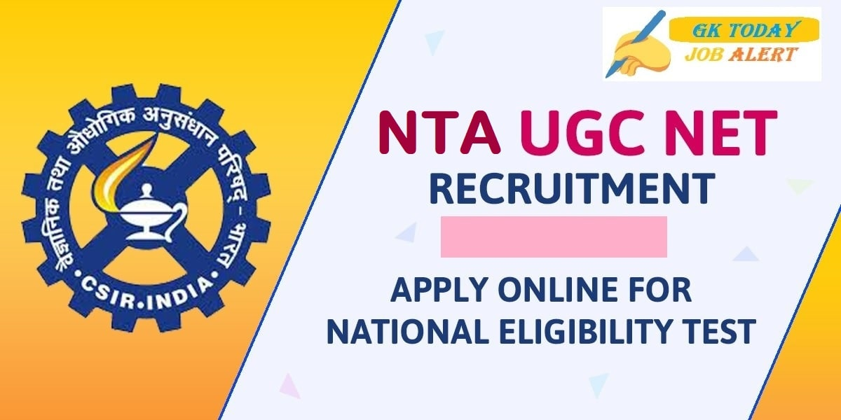 NTA UGC NET Recruitment Notification May 2021 – Apply Online