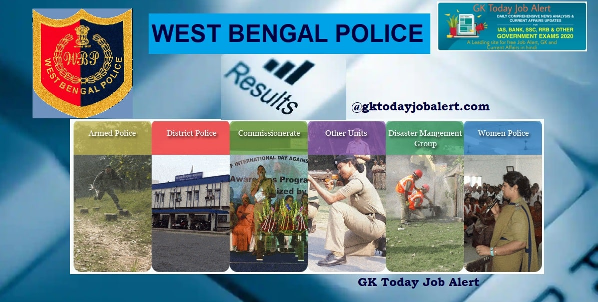 West Bengal Police Result