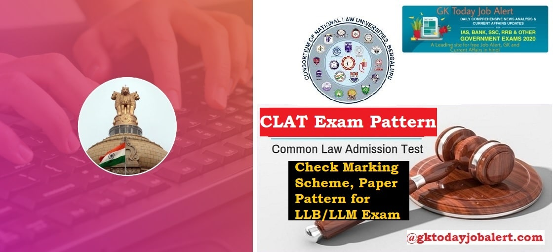 CLAT Exam Pattern 2020 Check Marking Scheme, Paper Pattern