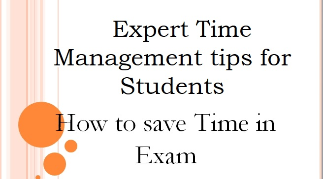 Expert Time Management tips for Students