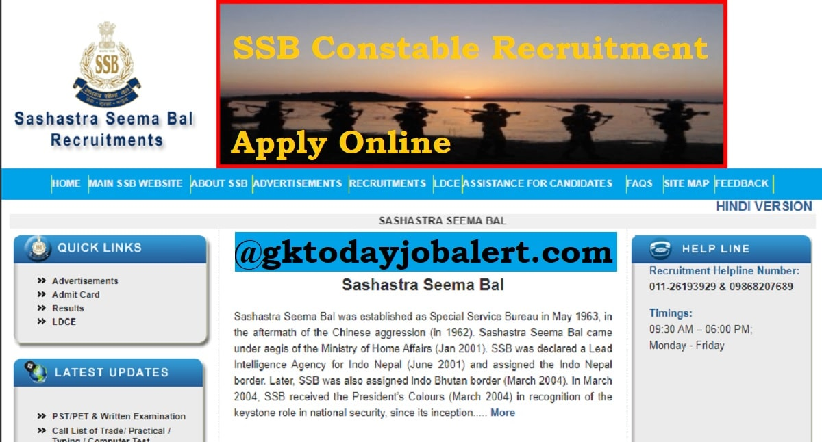 SSB-Constable-Recruitment