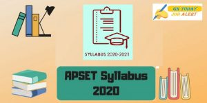 APSET Syllabus 2020 – [Updated] All Subjects, Download PDF Here