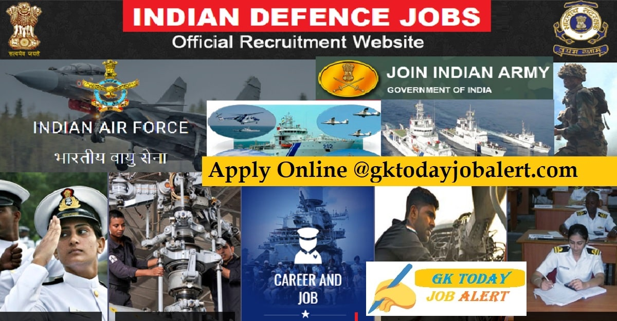 Latest Defence Jobs Notifications