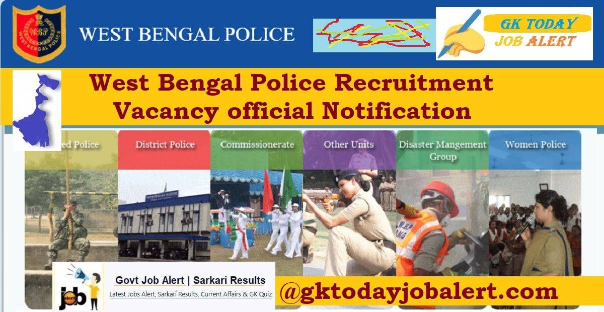 West Bengal WB Police Recruitment Notification